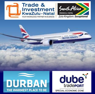 TOURISM IN KZN SET TO SOAR AS BRITISH AIRWAYS INTRODUCES A DIRECT FLIGHT BETWEEN LONDON AND DURBAN